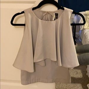 Top shop silk blouse